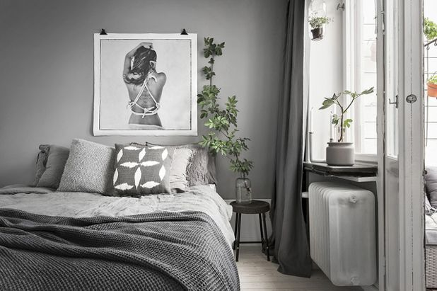 Beautiful Pareti Grigie Camera Da Letto Photos - Idee Arredamento ...