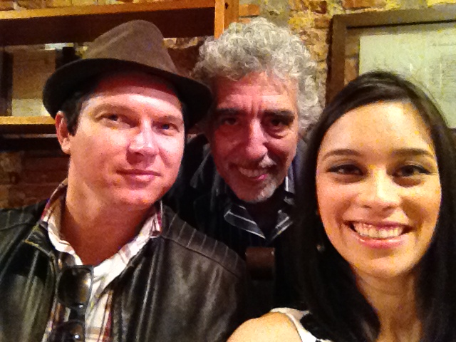 Con Bruno Saglia e Denise Alves 2014