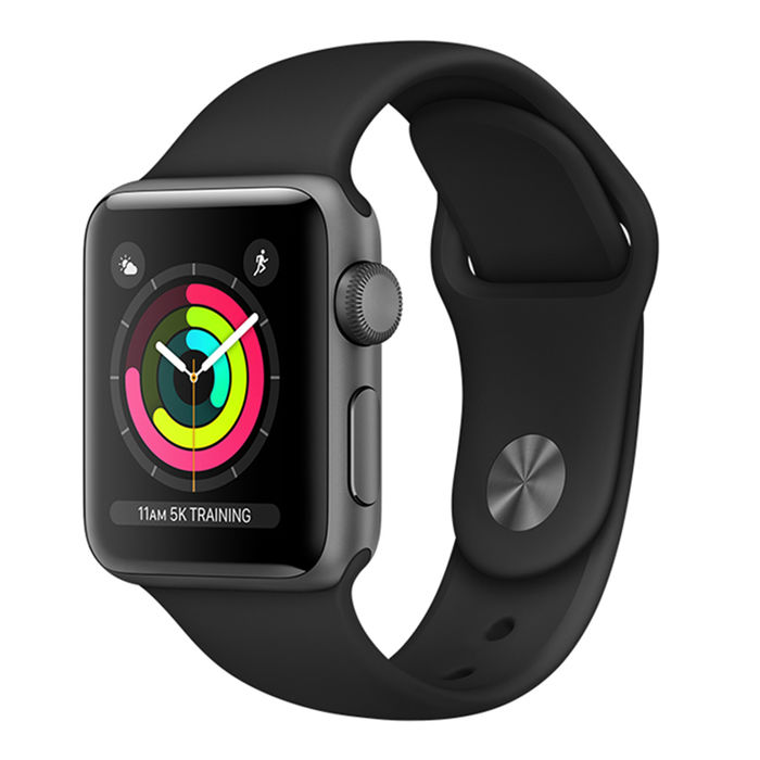 Apple Watch 2 aluminium 42mm nero grado B