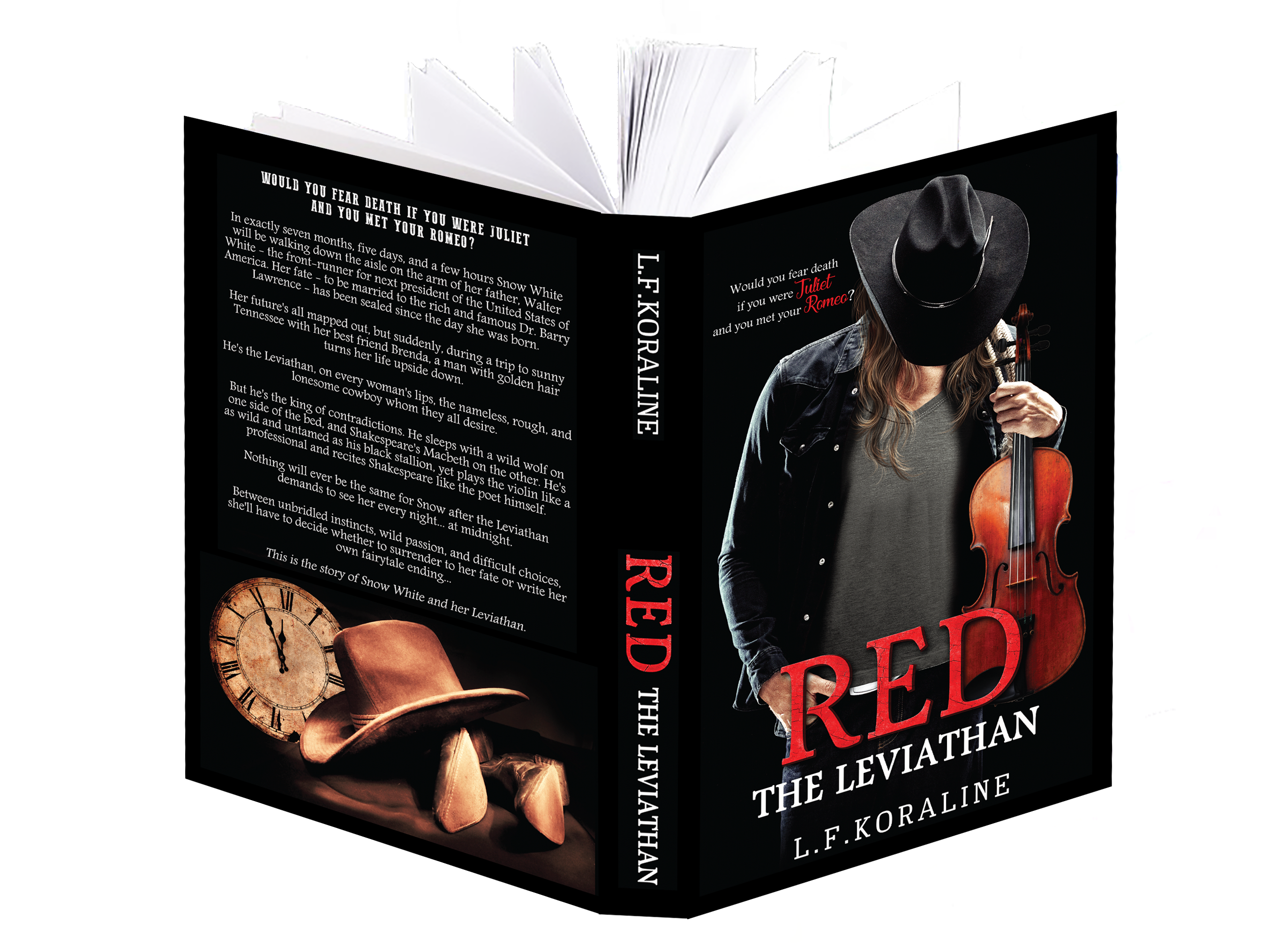 RED the Leviathan | L.F. Koraline