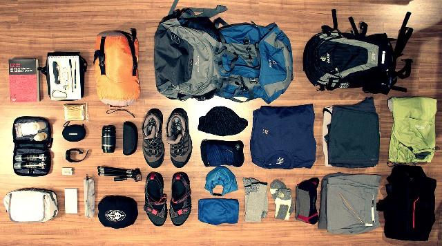 super popular c94fe d20fe Trekking in montagna, cosa portare.