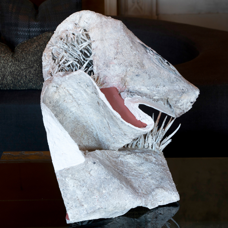 Matteo Giampaglia ''Sgembo'' Abstract Sculpture, Italy 2019