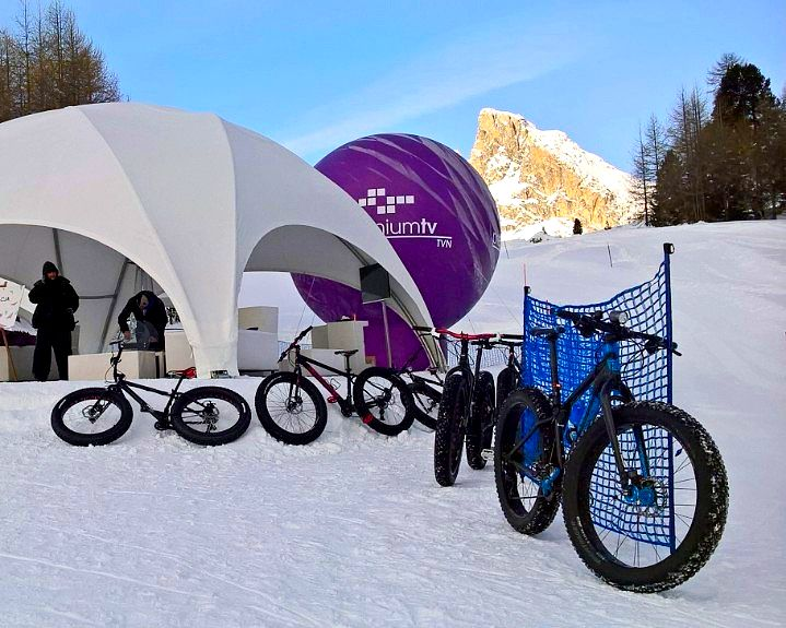 Fat bike snow camp