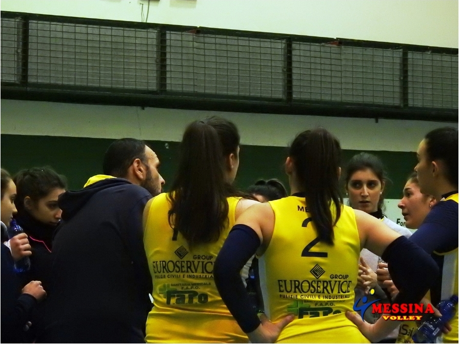 Sconfitta interna per il Messina Volley con l'Ot Services