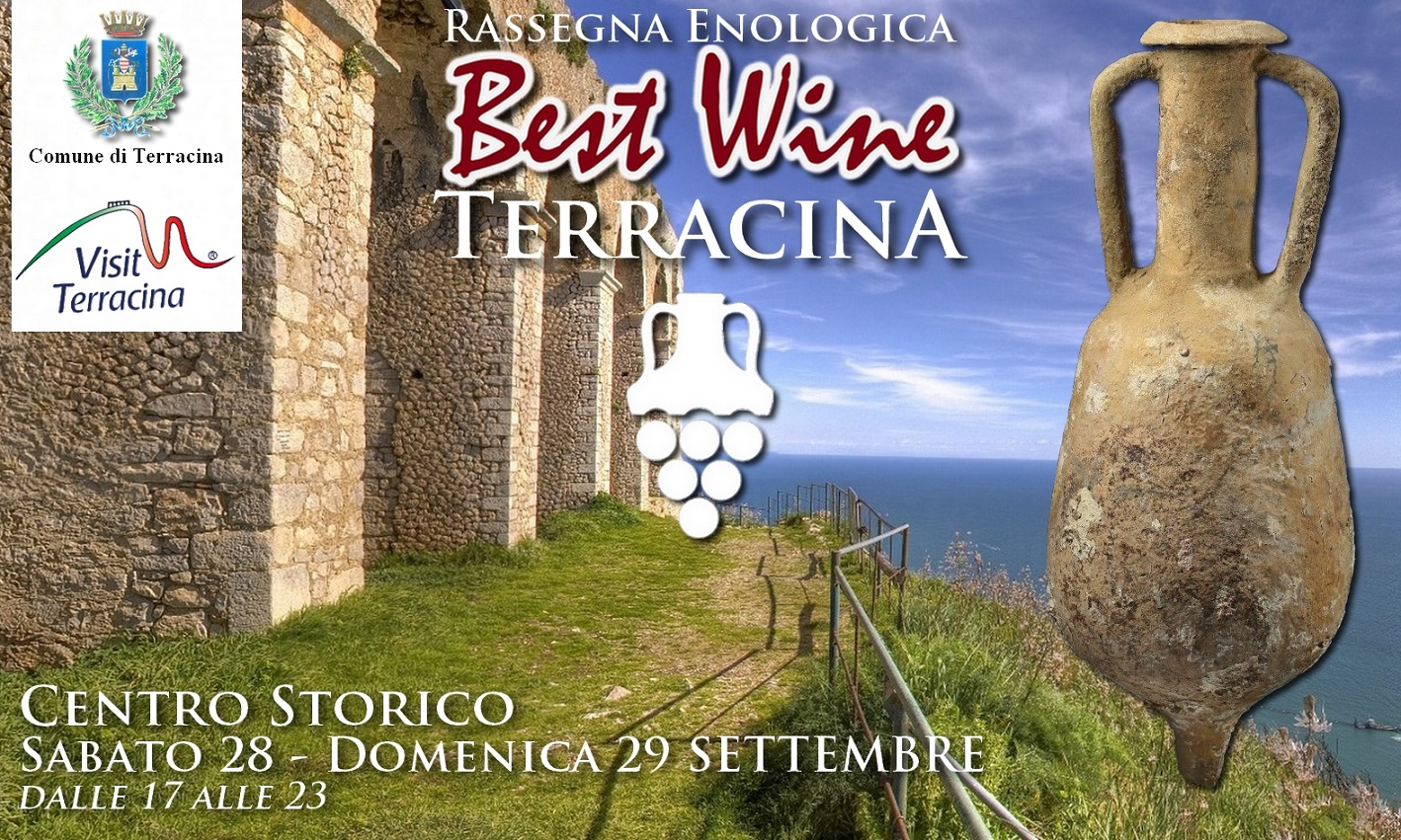 Locandina Best Wine - Terracina 2019 MINIjpg