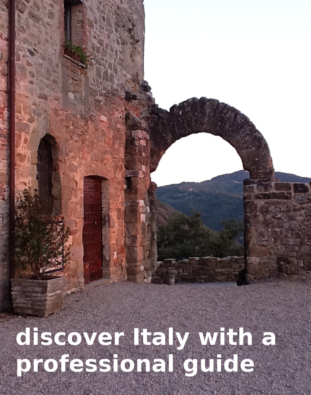 discover Italy with a professional guide