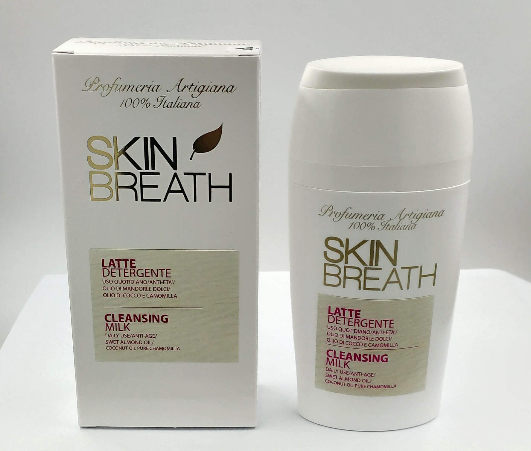 SKIN BREATH LATTE DETERGENTE