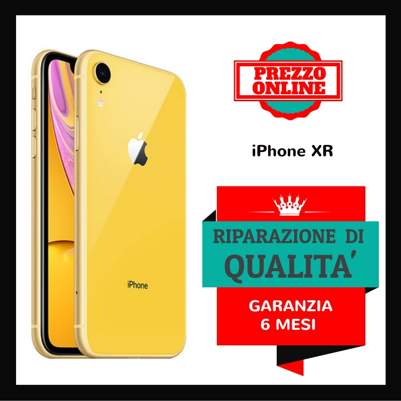 RIPARA IPHONE XR