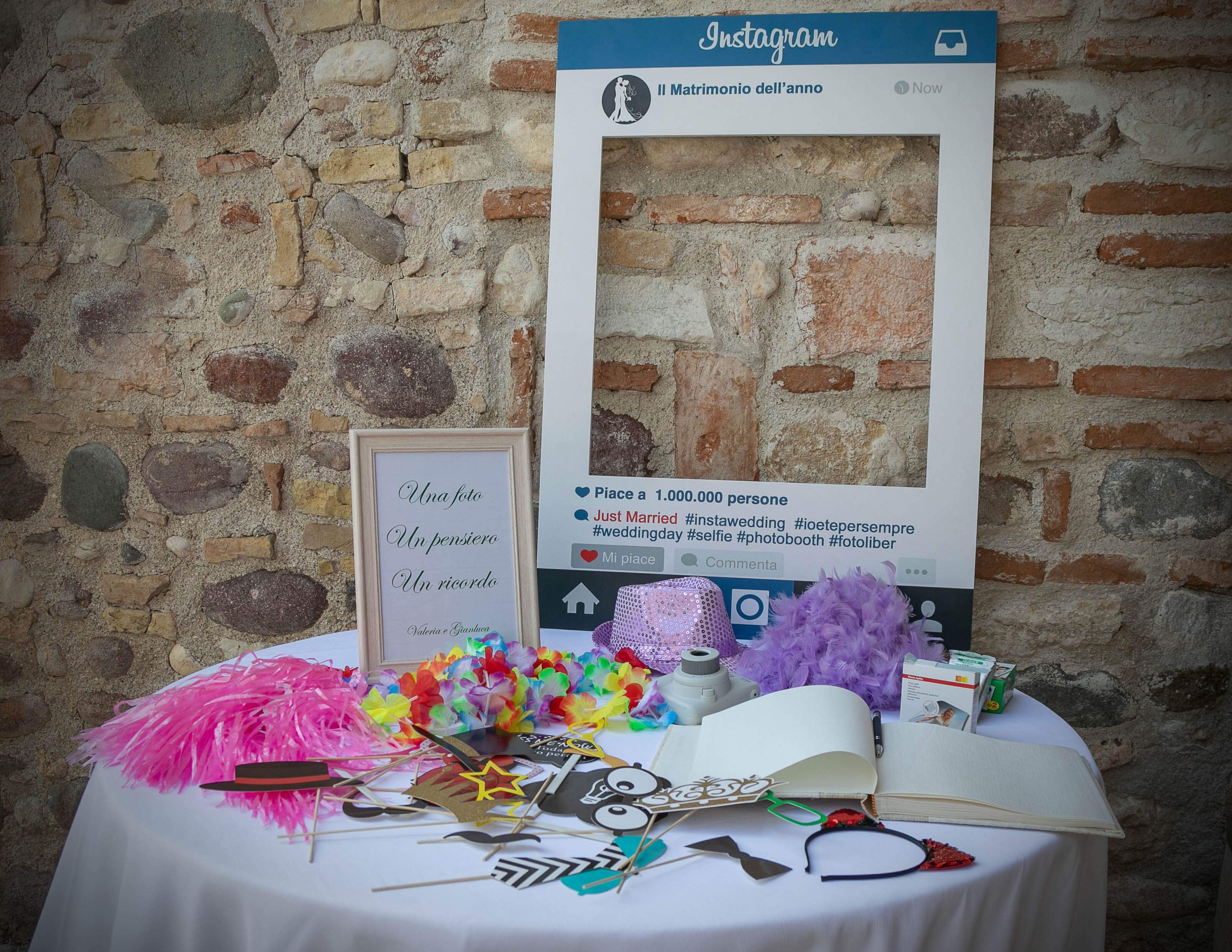 Photo-booth di matrimonio