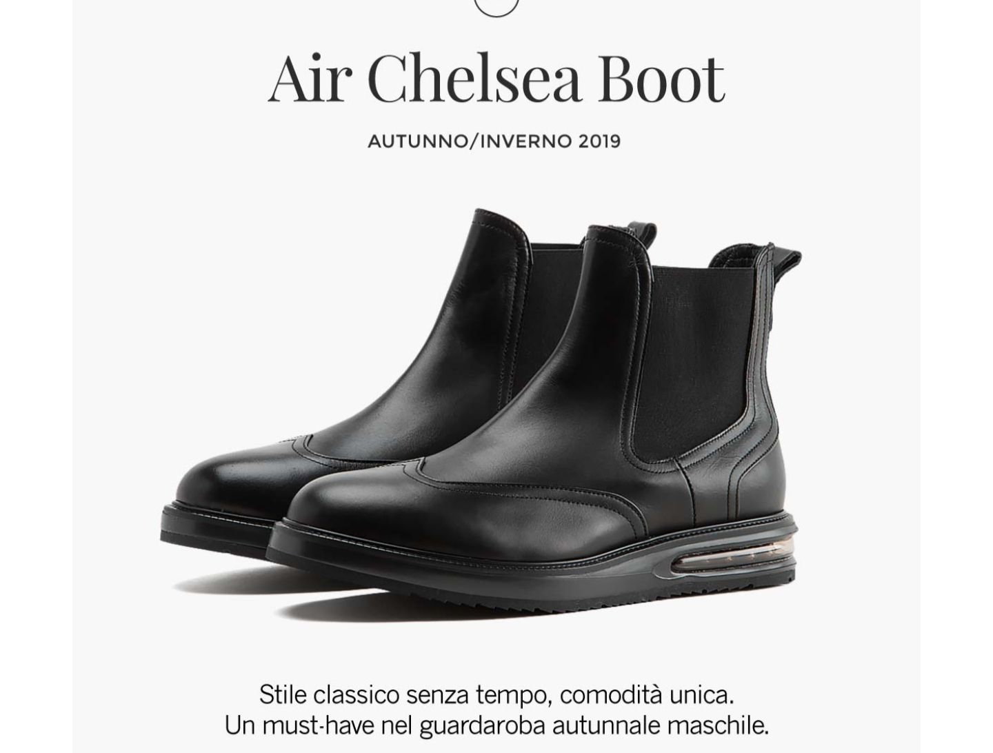 AIR Chelsea Boot Barleycorn