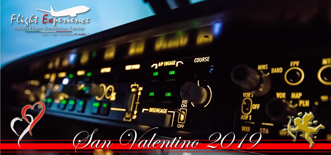 San Valentino 2019 Flight Package