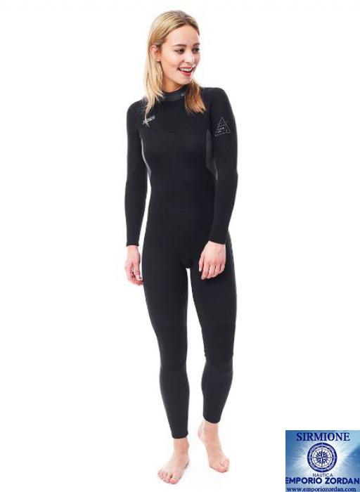 Jobe Muta Neoprene da Donna 50N Sport Acquatici Waterski Jetski Wakeboarding Safety Impact Vest Top Cool Grey
