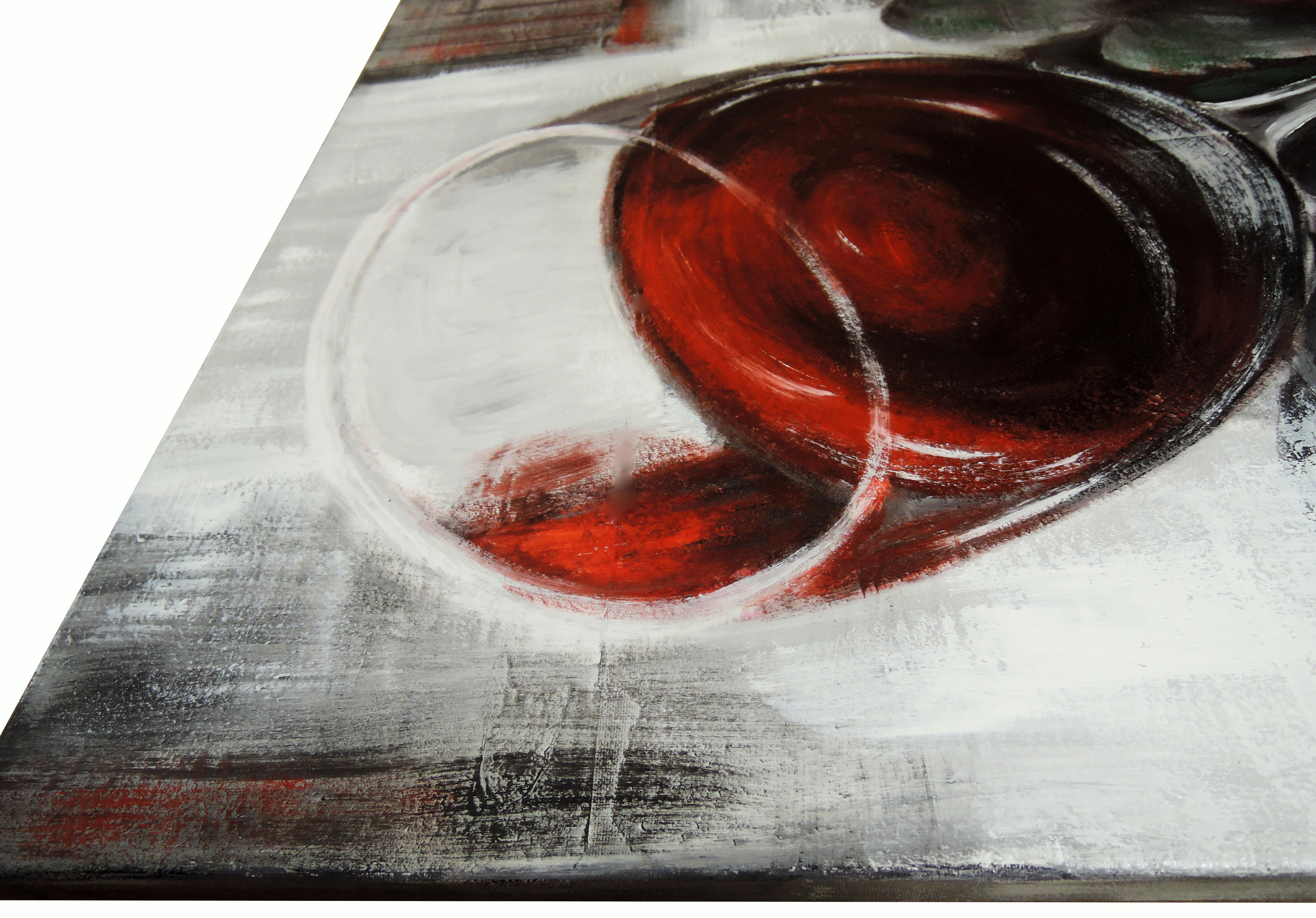 """Red wine"", acrilico su tela, cm.60x50"