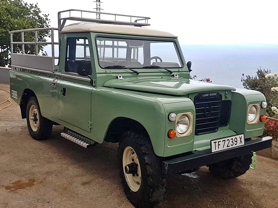 1975 SANTANA LAND ROVER 109 Pick Up LHD