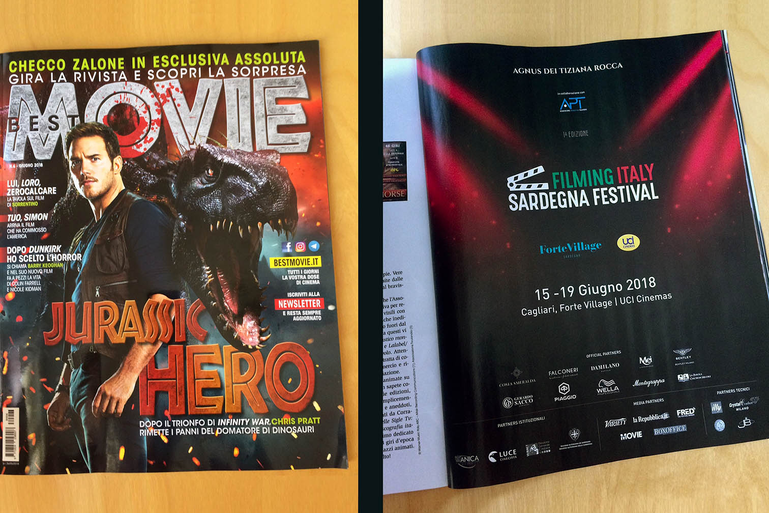 Best Movie magazine - advertising page - June 2018