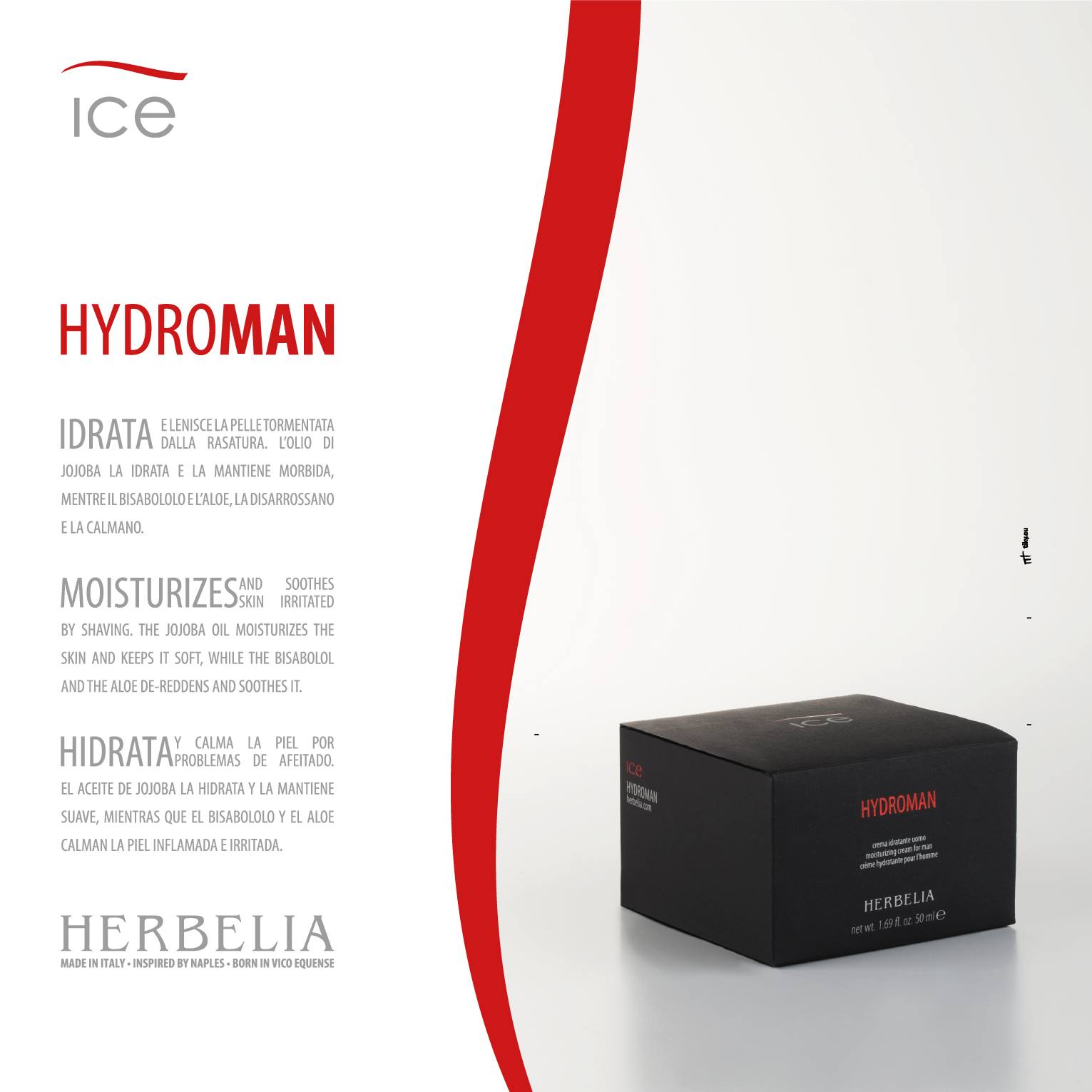 HYDROMAN ICE - 50ml