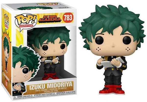 FUNKO POP IZUKU MIDORIYA #783  - MY HERO ACADEMIA - ANIMATION