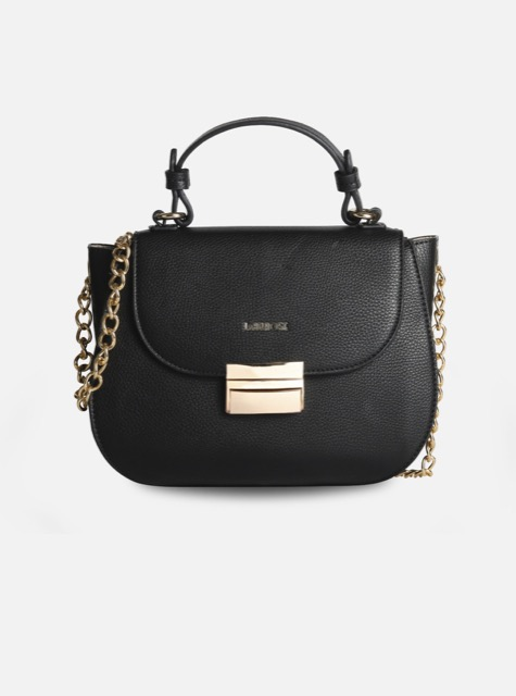 LABEL ROSE SADDLE BAG VICTORIA NERA
