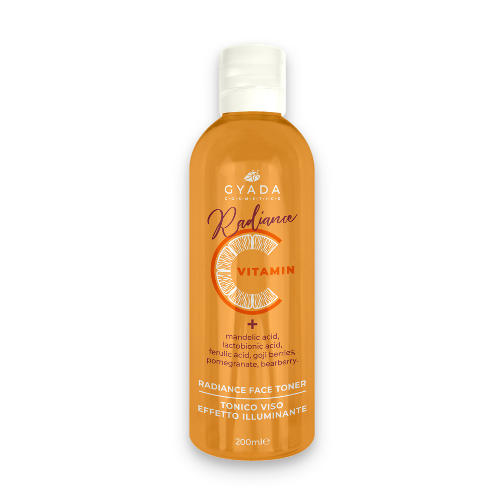 20% DI SCONTO - GYADA COSMETICS Radiance Vitamina C  Tonico Viso 200ml