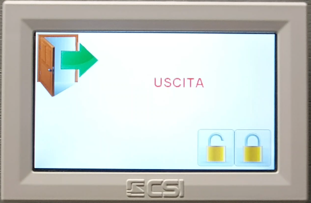 Come eseguire un inserimento totale antifurto infinite CSIpng