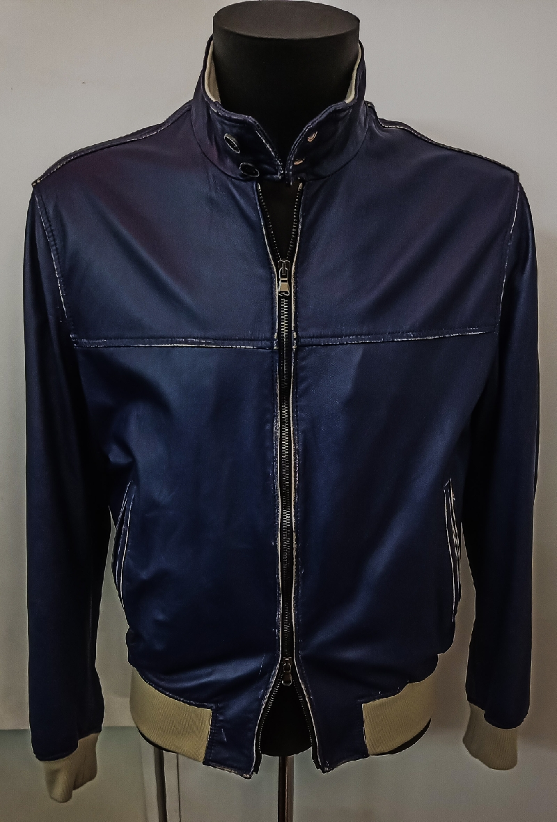 Polo leather jacket