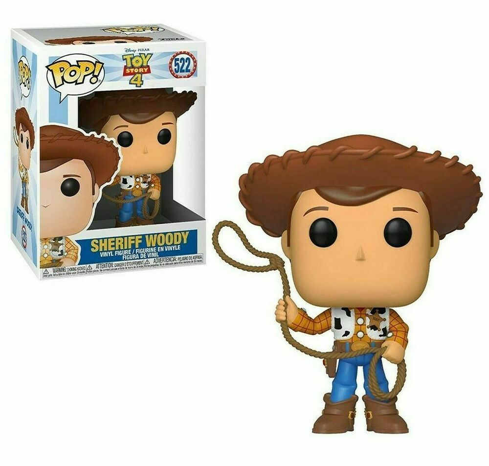 FUNKO POP SHERIF WOODY #522 TOY STORY DISNEY