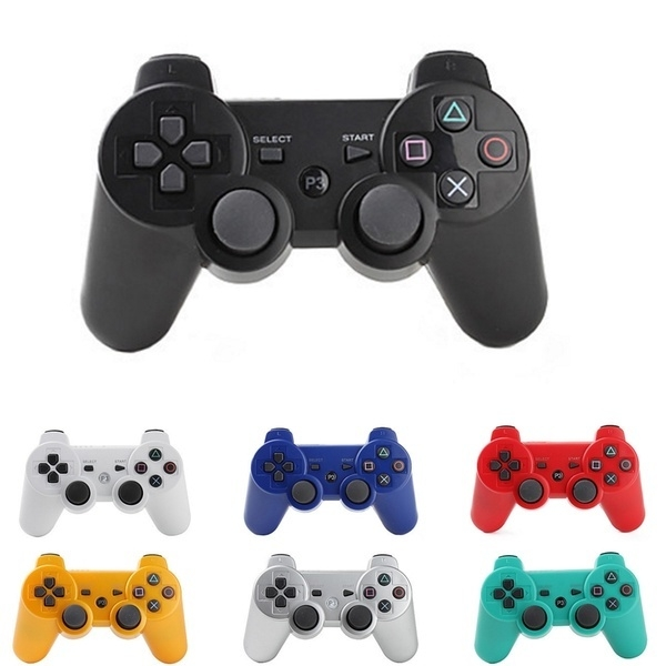 Joypad Wireless PS Style Multicolore
