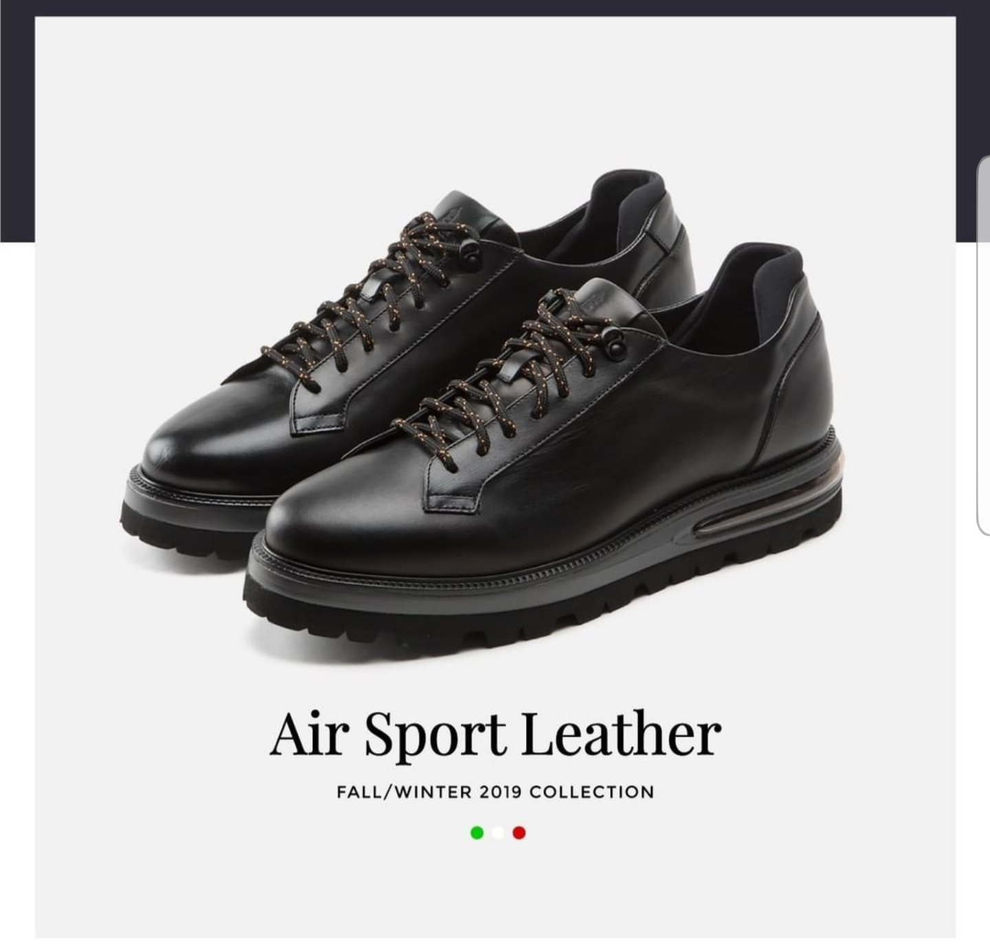 Air Sport black Barleycorn