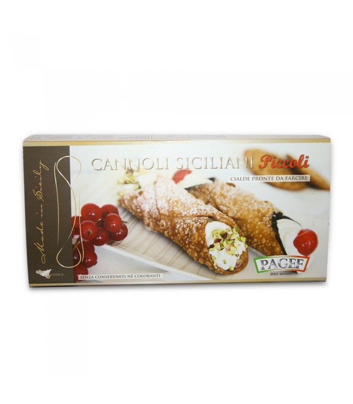 "CANNOLI SHELLS MIGNON250gr (8.8oz) ""Imported from Italy"""