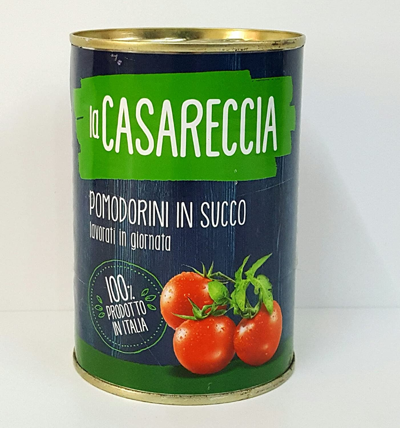 "CHERRY TOMATOES ""La Casareccia"" 400gr (14.10oz) ""Imported from Italy"""