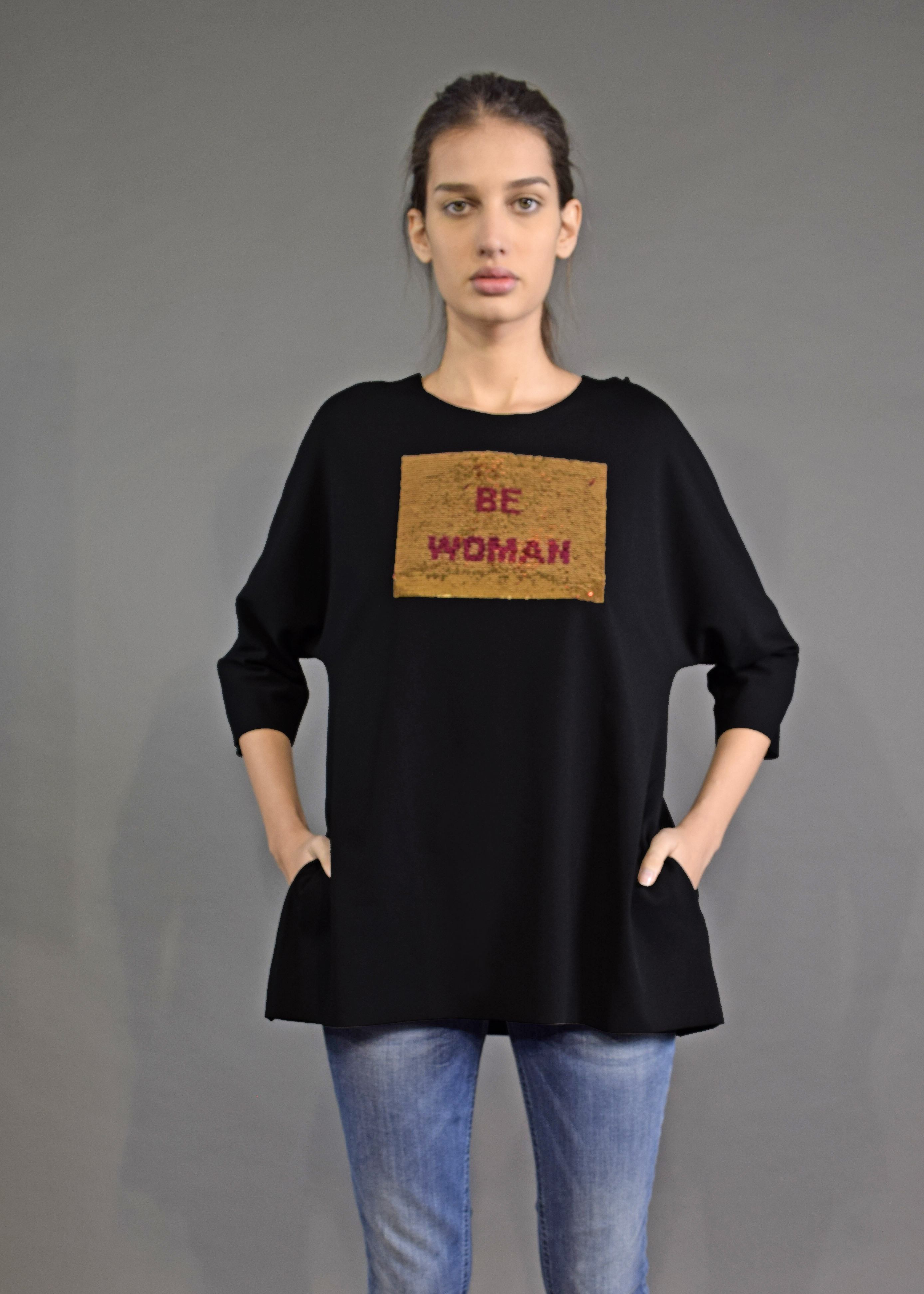 "T-Shirt ""BE WOMAN/BABY"""