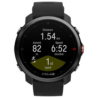 Polar Grit X black m/l Outdoor multisport watch