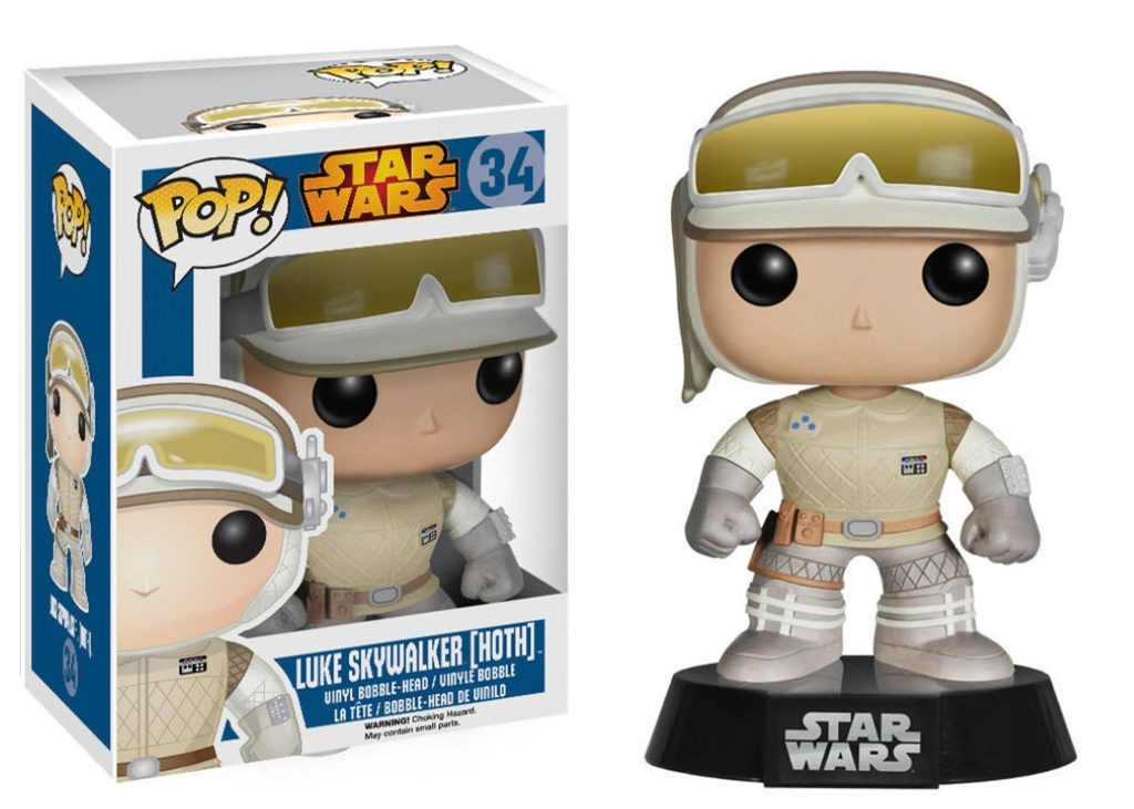 FUNKO POP LUKE SKYWALKER [HOTH] #34 STAR WARS