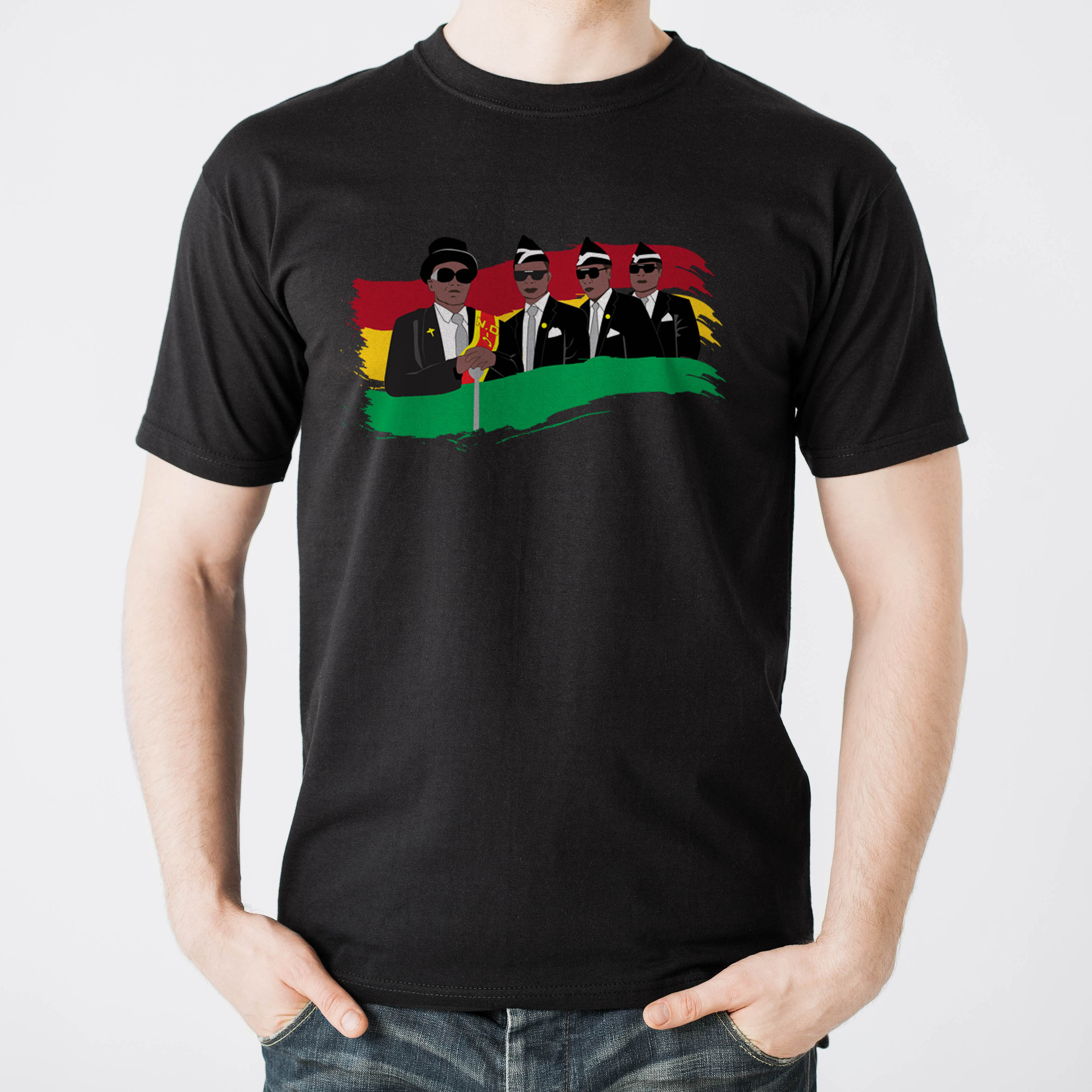 T shirt fruit of the loom NERA UNISEX mezza manica