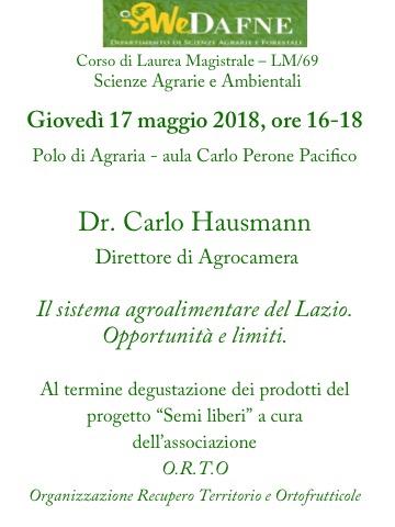 Locandina Seminario Hausmann 17 maggiojpg