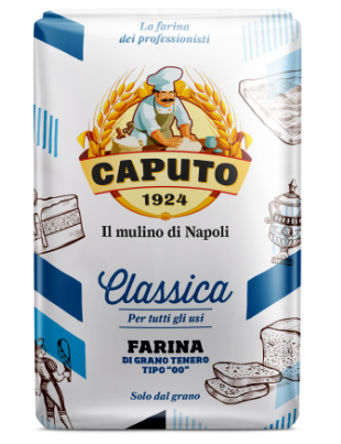 "Flour Caputo Classic 00 (1kg - 2.2 lbs)  All-purpose Original flour - ""Imported from Italy"""