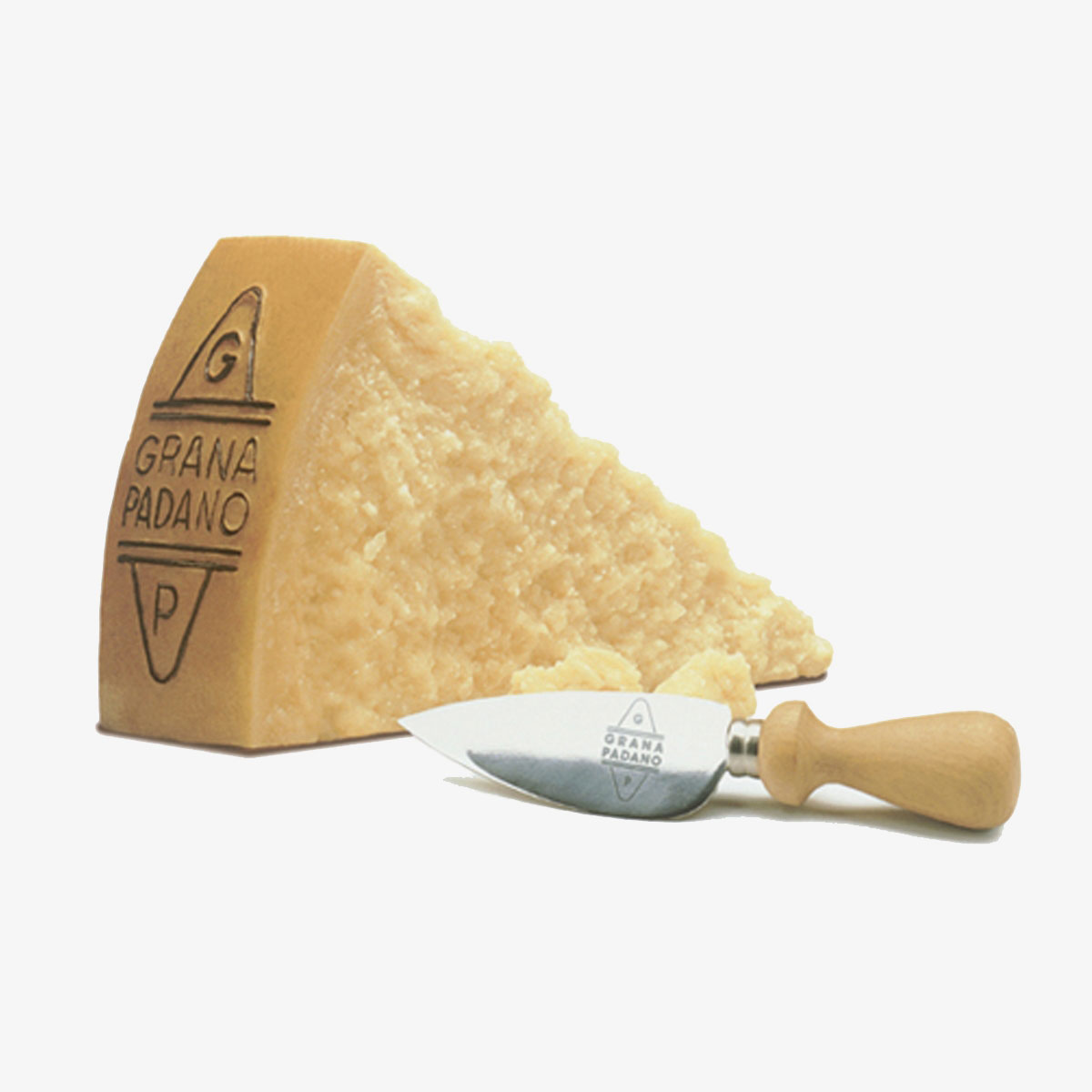 "Cheese: GRANA PADANO DOP RISERVA CHEESE 200gr (7.05oz) ""Product of Italy"""