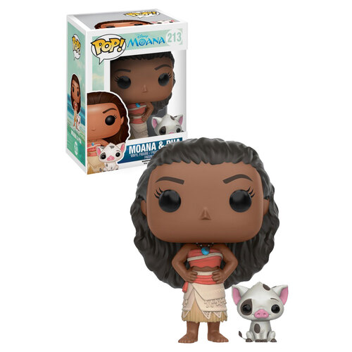 FUNKO POP MOANA & PUA #213 DISNEY