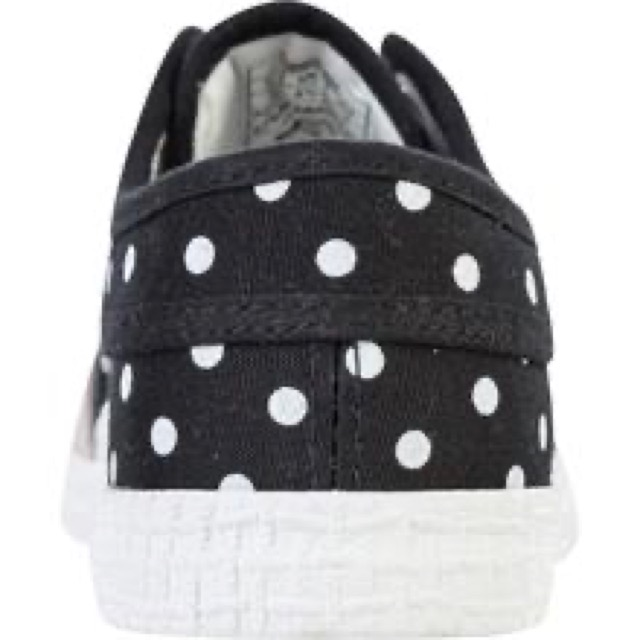 Polka Canvas Shoe - Black KAWASAKI