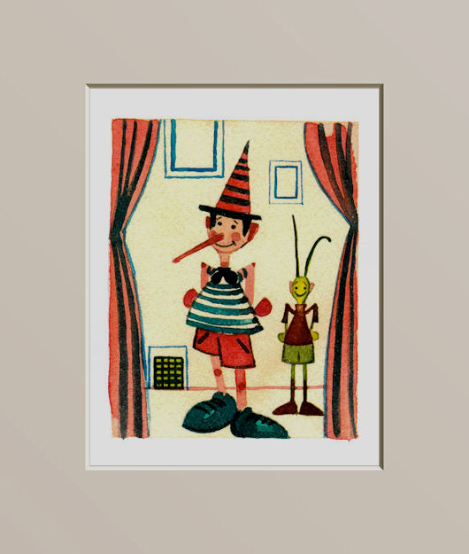 Pinocchio nel teatrino - Pinocchio in the theater