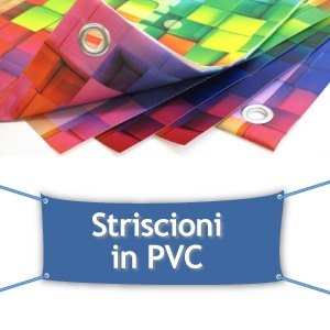 banner/striscione in pvc 2x1