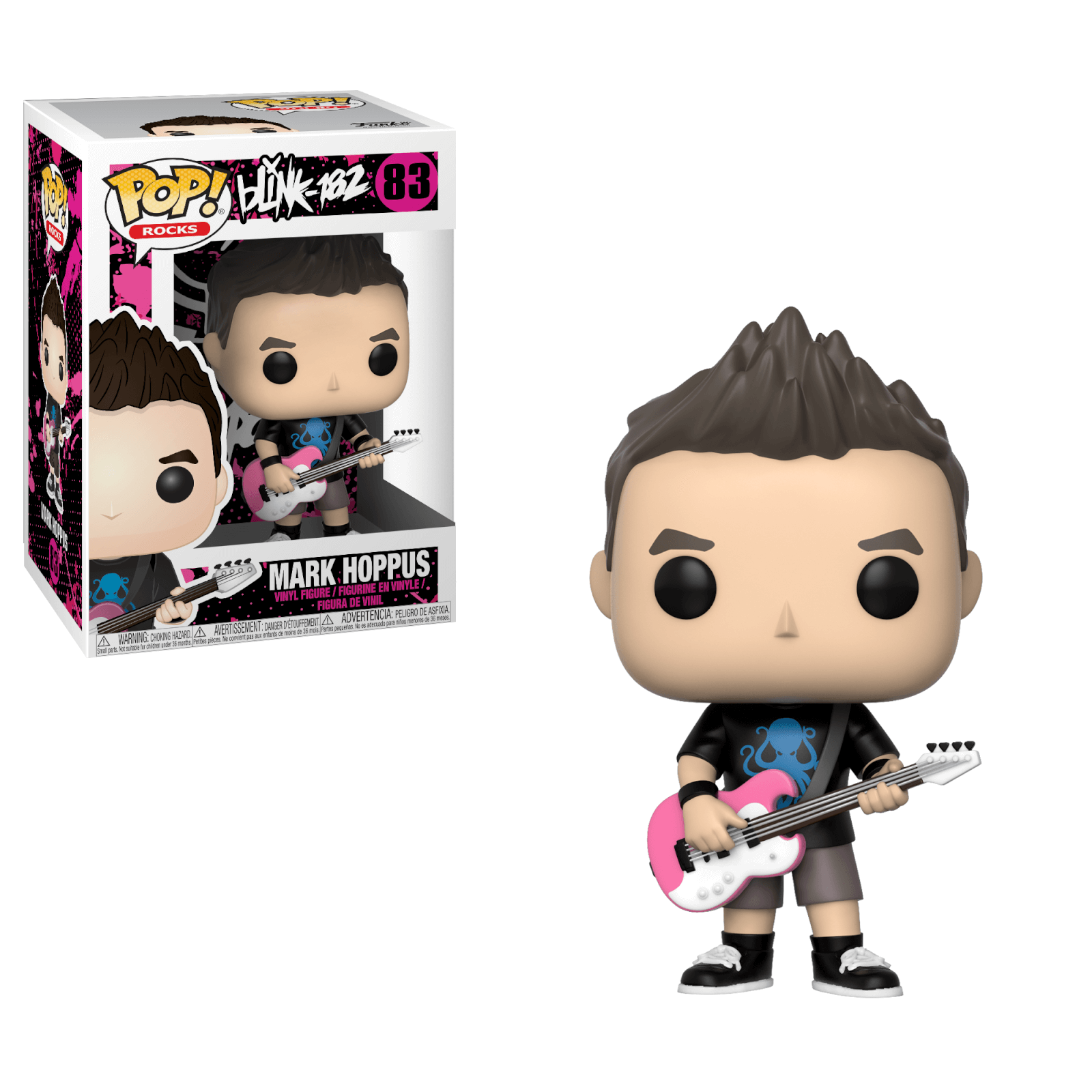 FUNKO POP MARK HOPPUS #83 ROCK BLINK 182