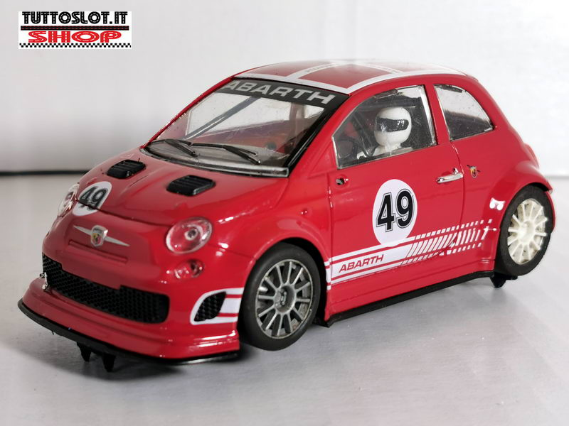 Supporto espositore slotcars 1:32-1:24 - Slotcar stand for 1:32 and 1:24 cars
