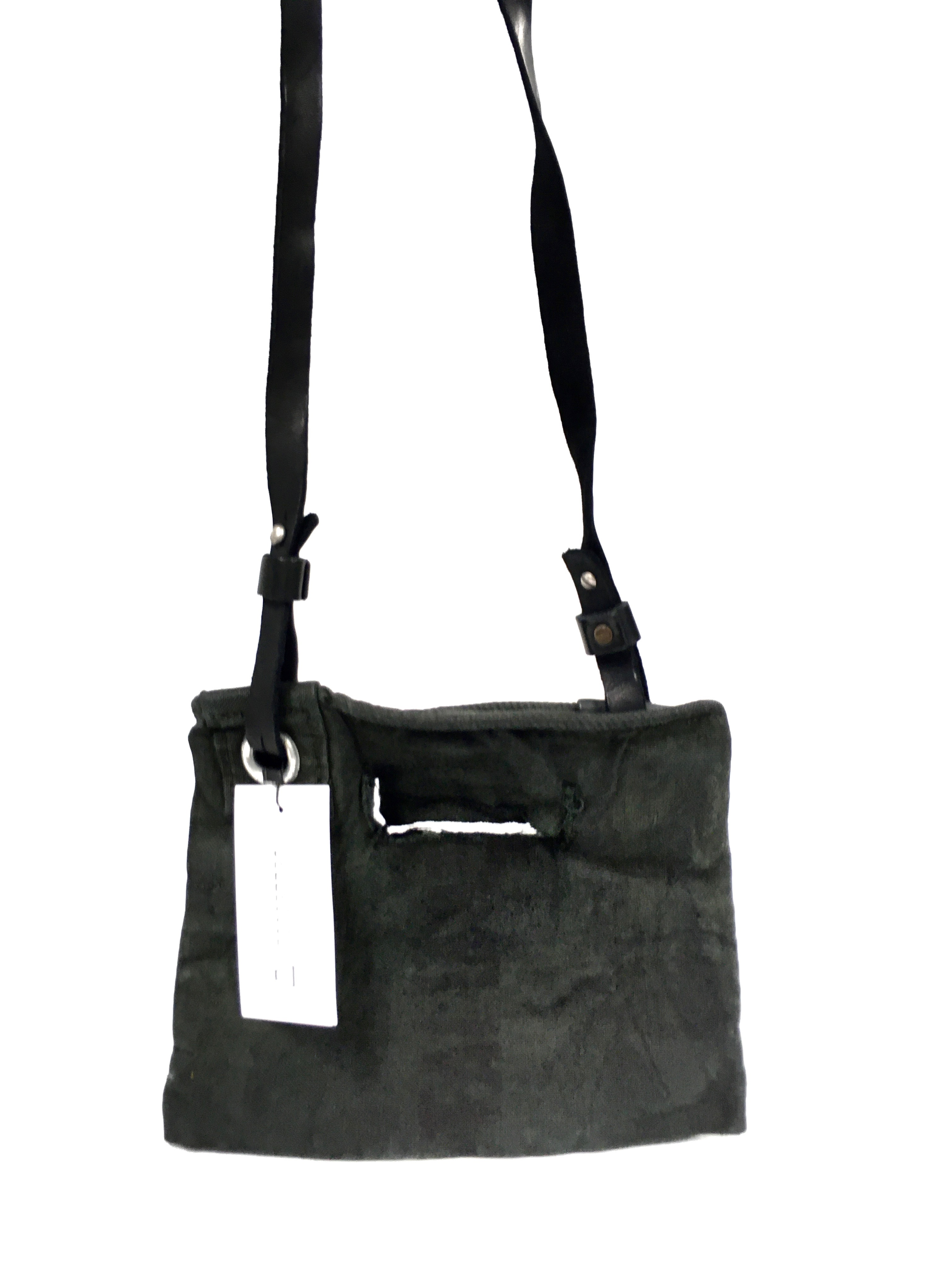 linen shoulder bag