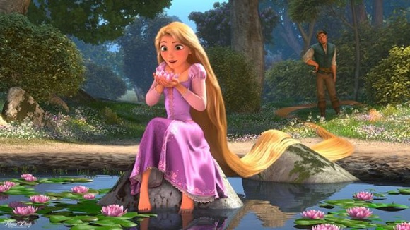 Rapunzel sognantejpg