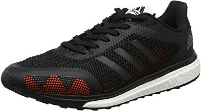 adidas Response+ M, Scarpe Running Uomo, Nero (Grey Four F17/core Black/Solar Orange)UK10 -EU 44 2/3