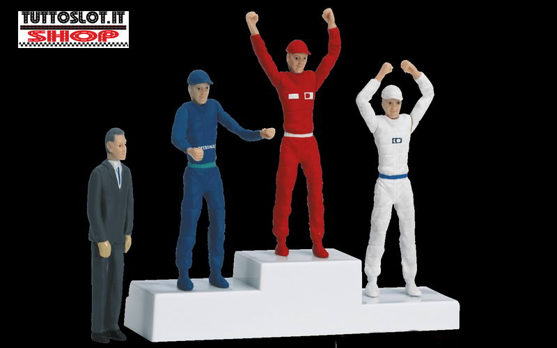Podio con personaggi - Podium with figures