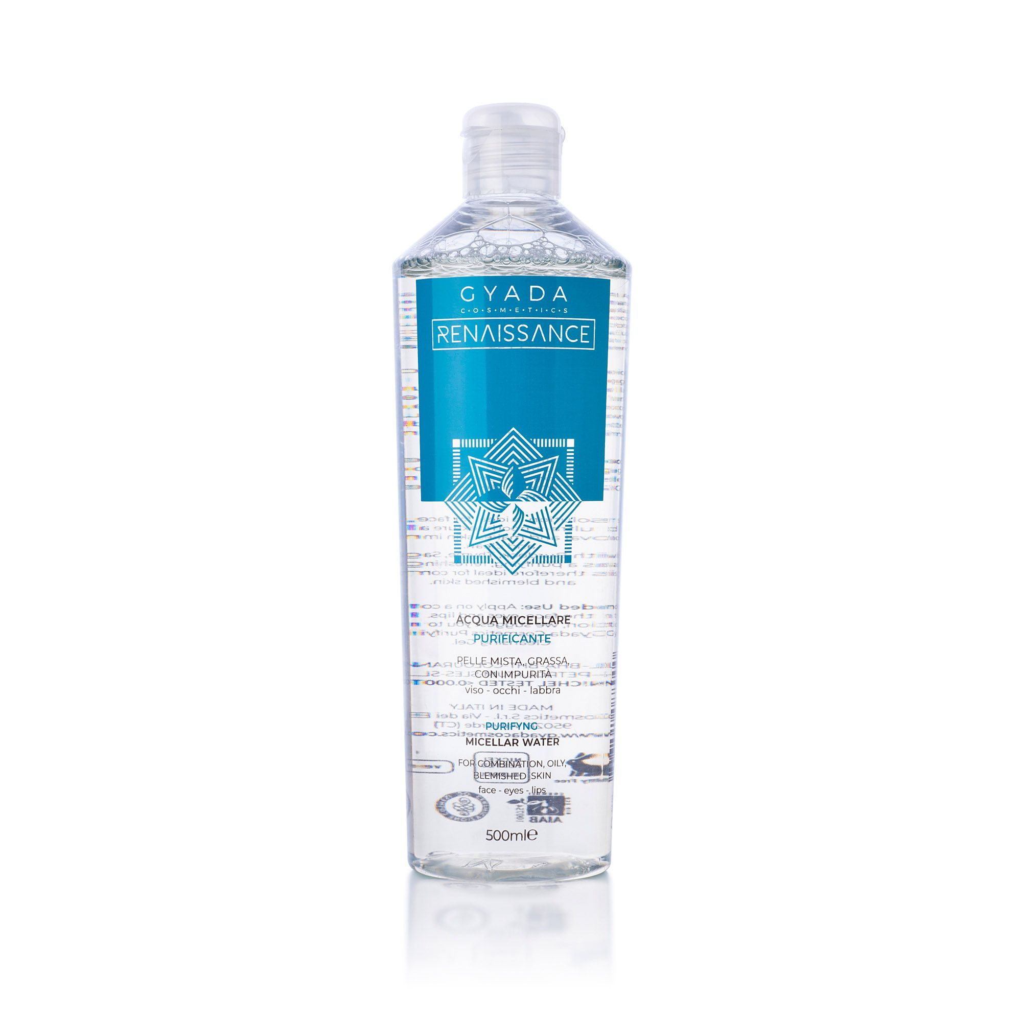 GYADA COSMETICS Acqua Micellare Purificante 500ml