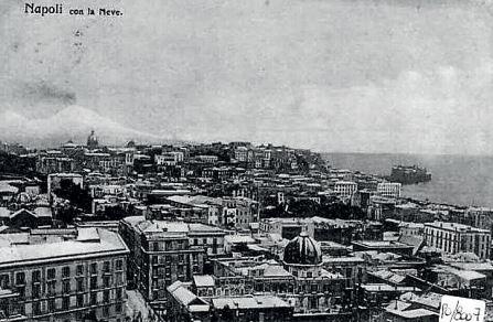 1907 da Corso Vittorio Emanuele vista sul quartoiere ChiaiaJPG