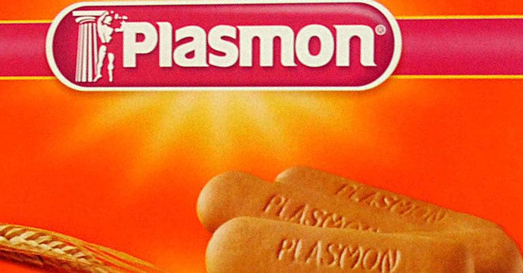 "Sweet Snacks: Biscotti Plasmon 2 x 120 gr (8.46 oz)  ""Imported from Italy"""